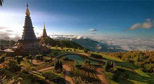 Les 2 pagodes royales